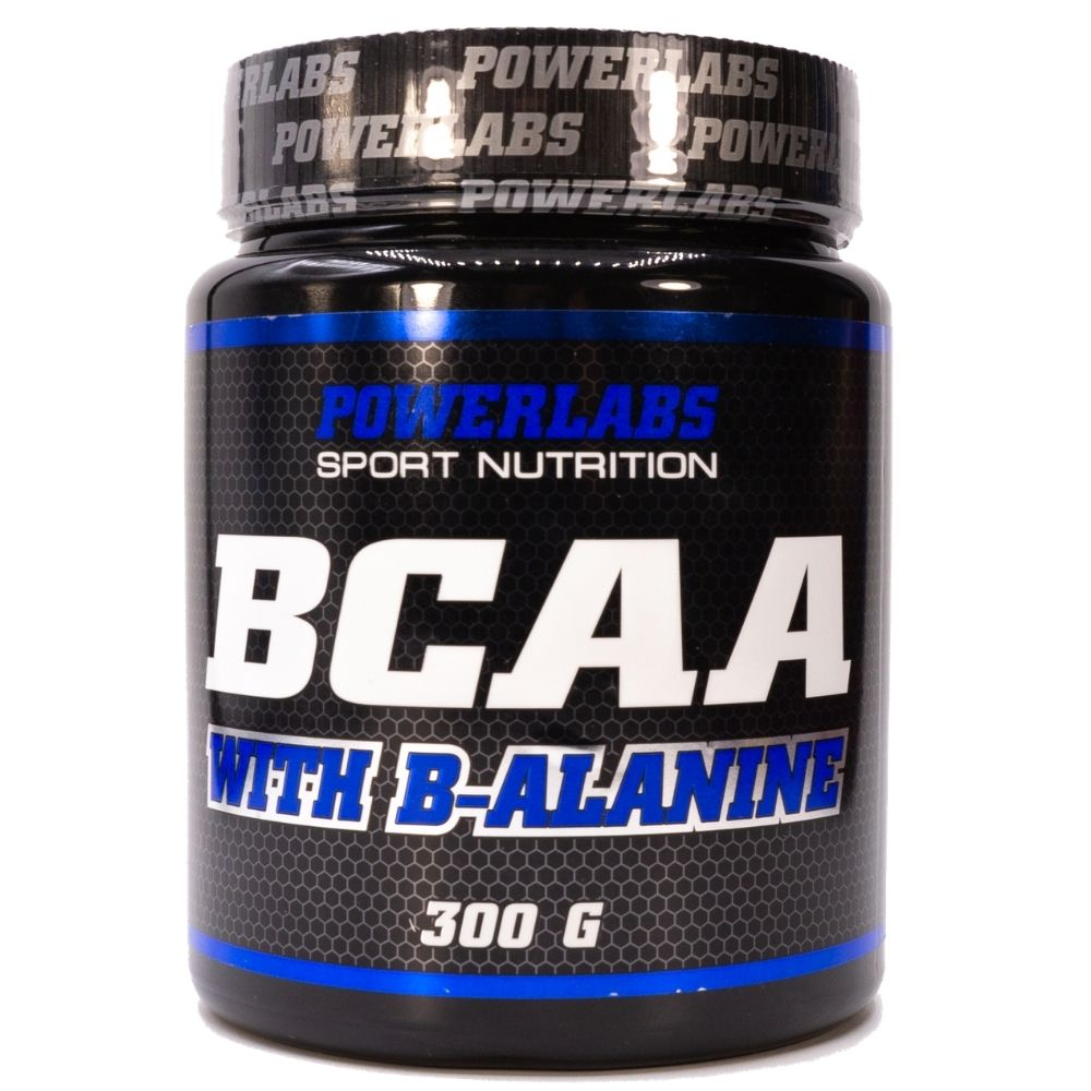 BCAA Powerlabs BCAA Beta-Alanine 300 g Яблоко