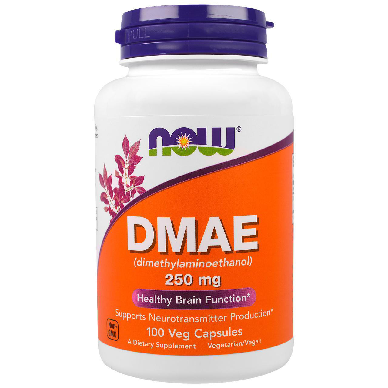 Антиоксидант NOW DMAE 250 mg 100 vcaps