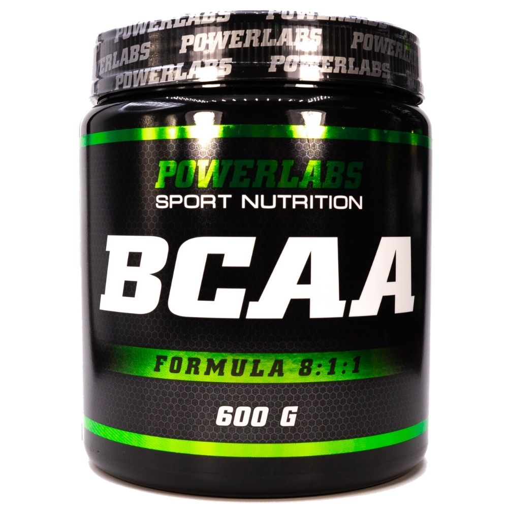 BCAA Powerlabs BCAA 8:1:1 600 g Малина