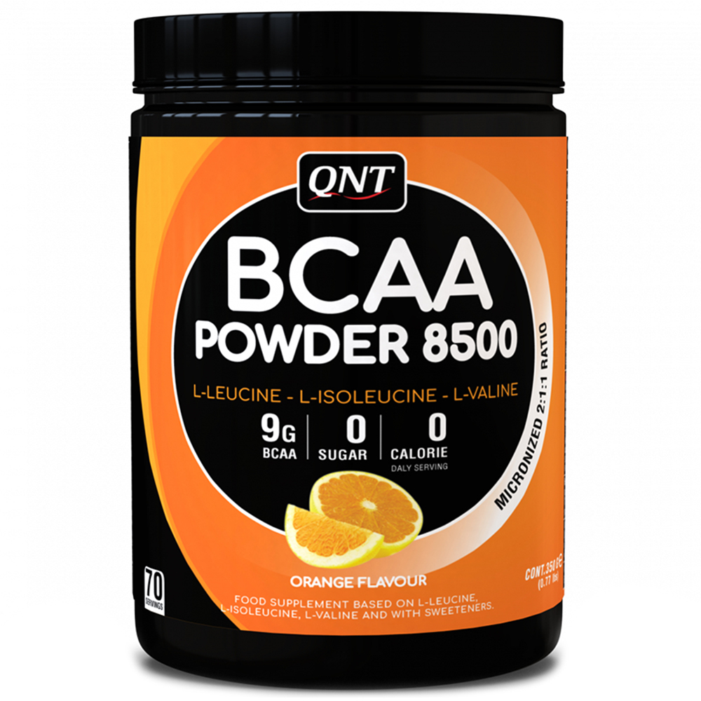BCAA QNT BCAA Powder 8500 350 g Апельсин